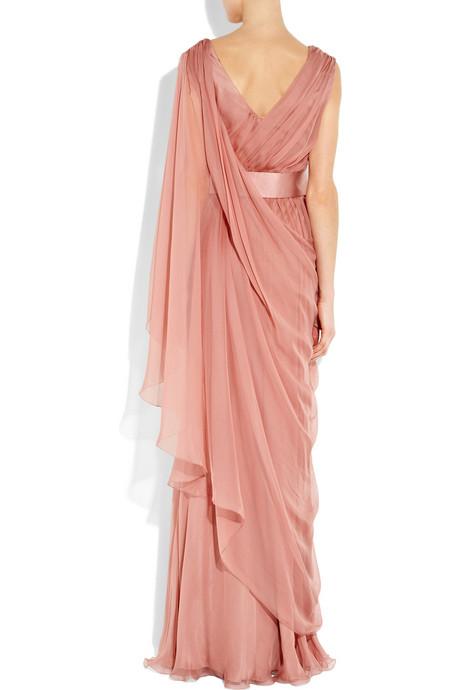 Alberta Ferretti Chiffon Dress - Chiffonkleid