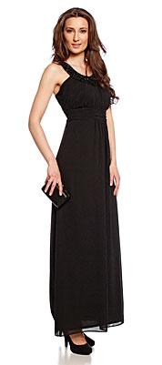 C&A Abendkleid lang schwarz