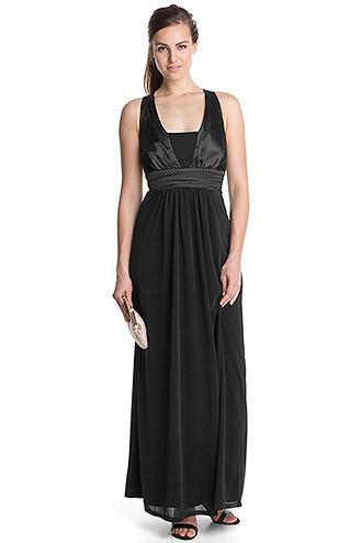Esprit Abendkleid lang schwarz