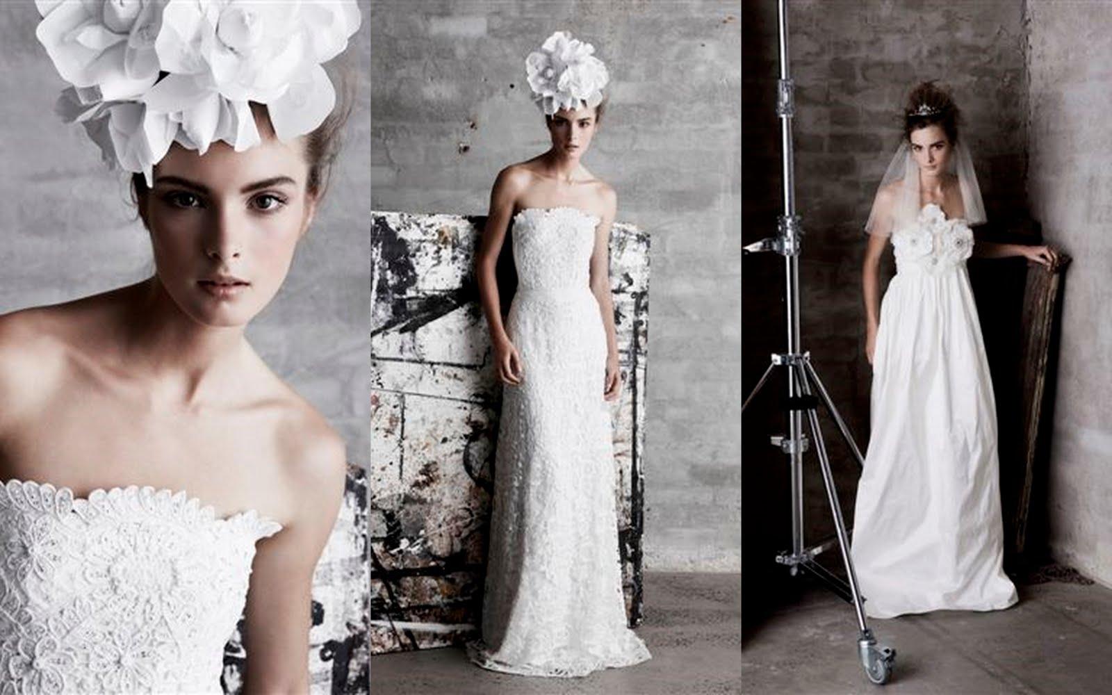 Collette Dinnigan Bridal Wedding Dress